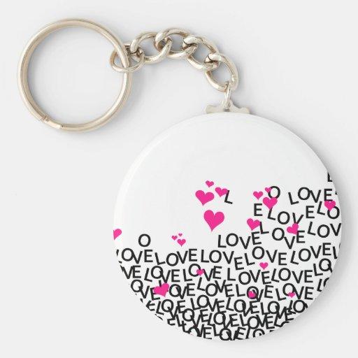 Llavero del amor del el día de San Valentín