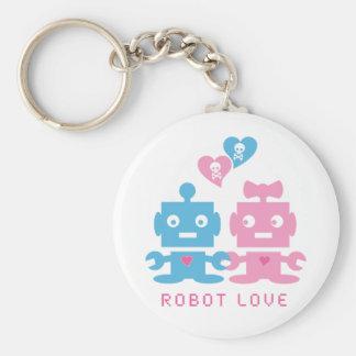 Llavero del amor del robot