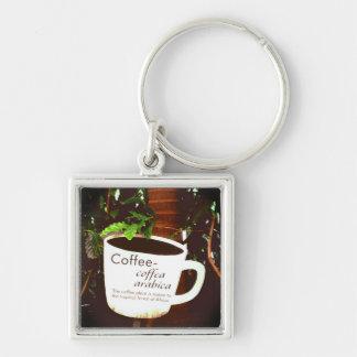 Llavero del Arabica del café
