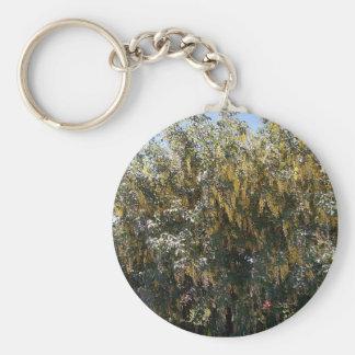 Llavero del árbol de lluvia de oro 1