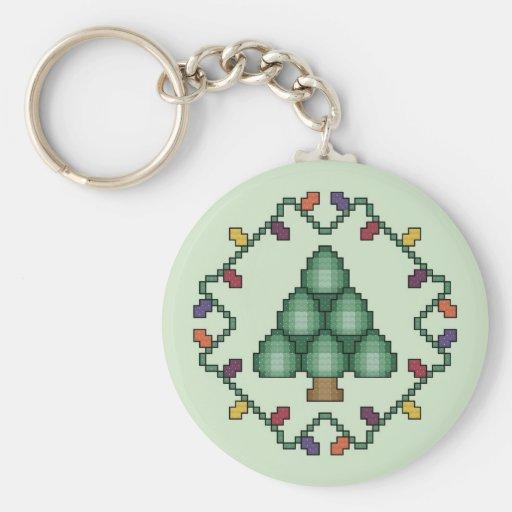 Llavero del árbol de navidad