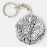 Llavero del árbol del invierno