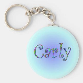 Llavero del arco iris de Carly