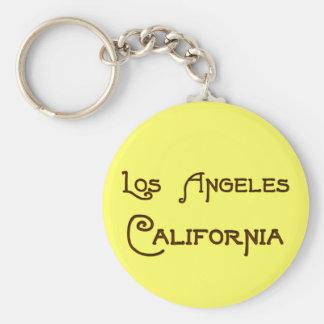 Llavero del art déco de Los Ángeles California