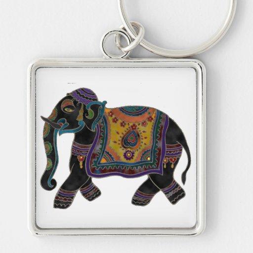 Llavero del arte del elefante indio