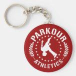 Llavero del atletismo de Parkour