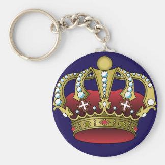 Llavero del azul de la corona