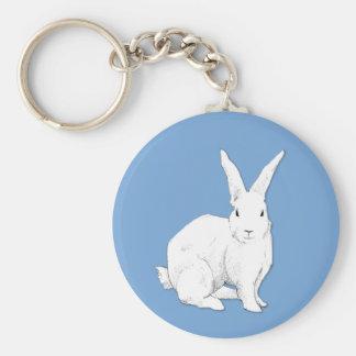 Llavero del azul del conejo