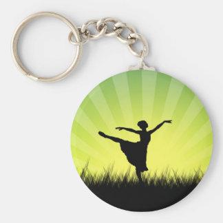 Llavero del bailarín de ballet