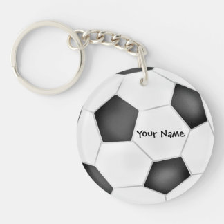 Llavero del balón de fútbol