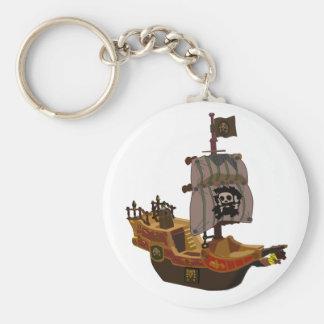Llavero del barco pirata