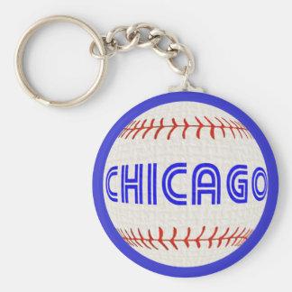 Llavero del béisbol de Chicago