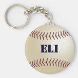 Llavero del béisbol de Eli por 369MyName