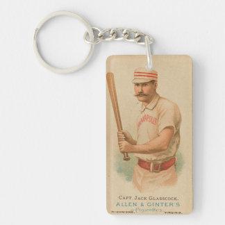 Llavero del béisbol del vintage
