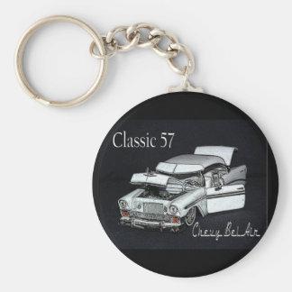 Llavero del Bel Air de Chevy de la obra clásica 57