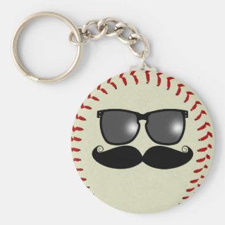 Llavero del bigote del béisbol
