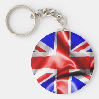 Llavero del botón de la bandera de Gran Bretaña