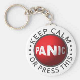 Llavero del botón de pánico