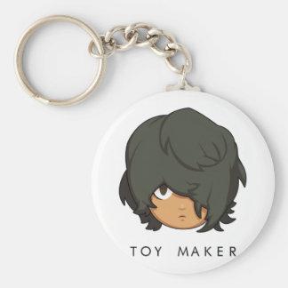 Llavero del botón del fabricante del juguete de