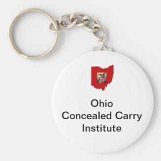 Llavero del botón del logotipo de OCCI