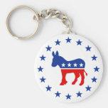 Llavero del burro de Demócrata