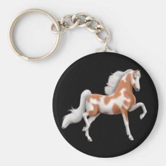 Llavero del caballo de la pintura de Saddlebred de