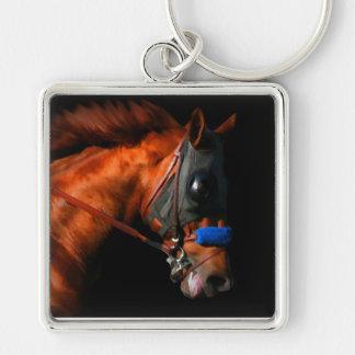 Llavero del caballo de raza