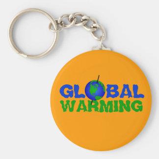 Llavero del calentamiento del planeta