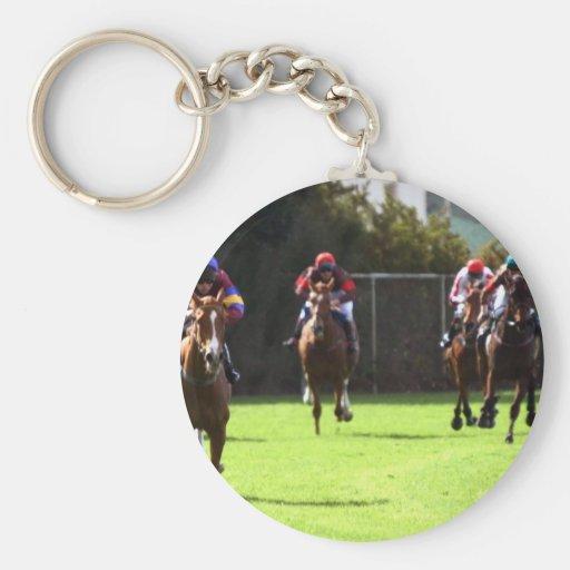 Llavero del campo de la carrera de caballos