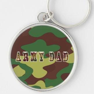 Llavero del camuflaje del papá del ejército