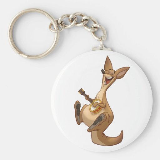 Llavero del canguro del Banjo-Strummin'