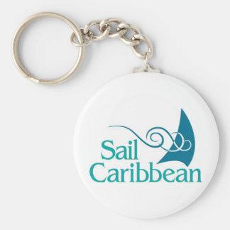 Llavero del Caribe de la vela