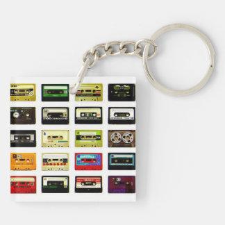 Llavero del casete de cinta