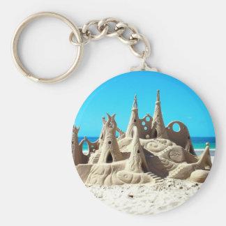 Llavero del castillo de arena de la playa de Noosa