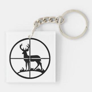 Llavero del cazador de los ciervos