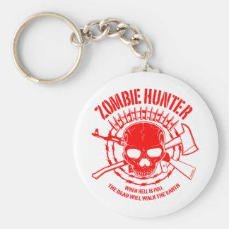 Llavero del cazador del zombi