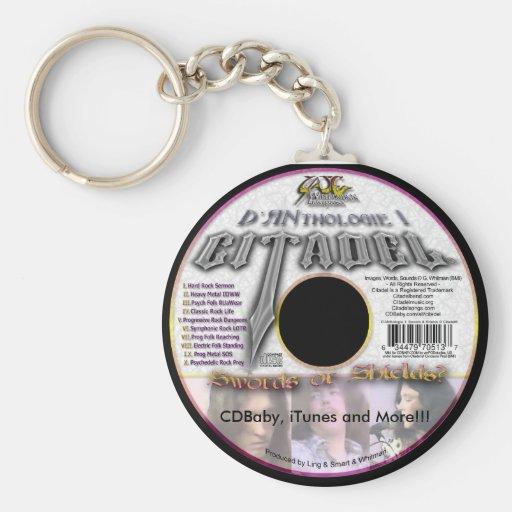 Llavero del CD de D'ANthologie del ® de la ciudade