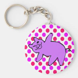 Llavero del cerdo - regalos divertidos de la yoga