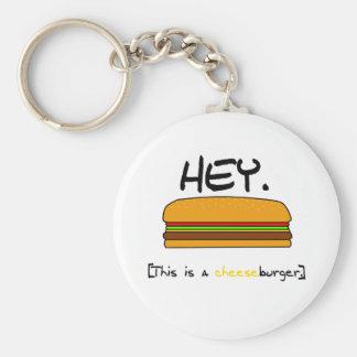 Llavero del cheeseburger