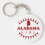 Llavero del chica de Alabama