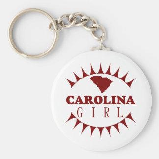 Llavero del chica de Carolina del Sur