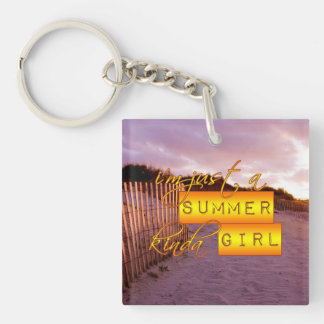 Llavero del chica del verano