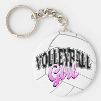 Llavero del chica del voleibol