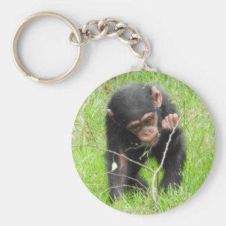 Llavero del chimpancé del bebé