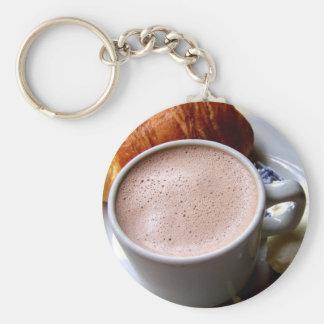 Llavero del chocolate caliente