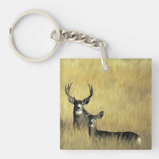 Llavero del ciervo mula
