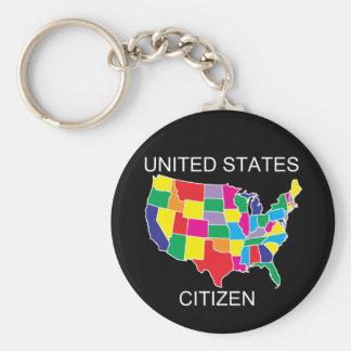 Llavero del ciudadano de Estados Unidos