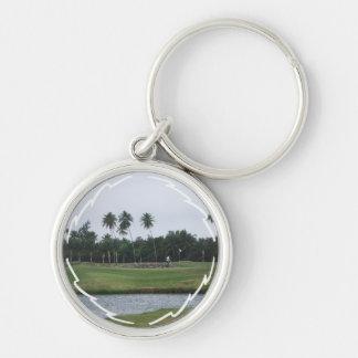 Llavero del club de campo del golf