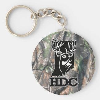 Llavero del club de los ciervos del Hoosier