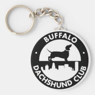 Llavero del club del Dachshund del búfalo